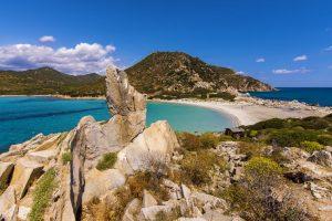 Sardegna-vacanze-spiaggia-Punta-Molentis,-Villasimius