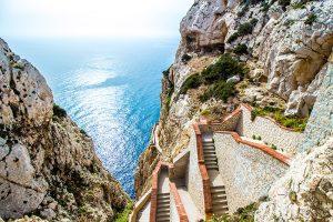 sardinia-alghero-nettuno-grotto-capo-caccia-stairs